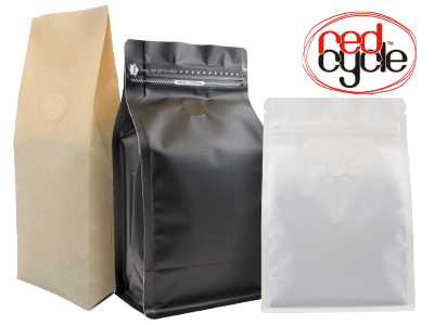 redcycle coffee bags